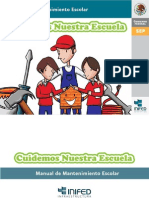 Manual de Mantenimiento Escolar