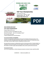 2012 Woodland Golf VGT Tour Champ Details