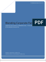 Blending Corporate Families