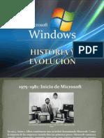 Historia y Evolucion de MS Windows