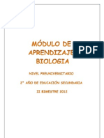 MODULO DE BIOLOGIA 2°