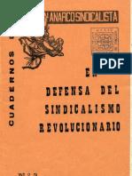 Cuadernos de  Accion Anarco-Sindicalista nº2 1975