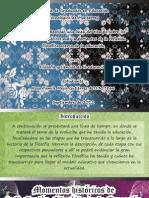 Momentos Históricos de la reflexion filosofica de la educacion A01307866