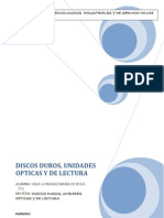 3.-Discos Duros, Unidades Opticas y de Lectura