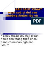 9- MAU a- Chon Mau Xac Xuat