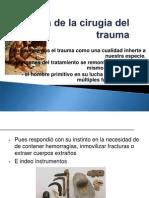 Historia del trauma