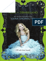 Alice in Zombieland by Gena Showalter - Chapter Sampler