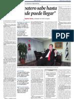 Raphael Schutz (Embaixador d'Israel a Espanya). Entrevista a LV