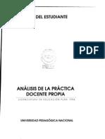 01 Analisis de La Practica Docente Propia