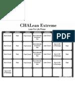 Chalean Extreme Lean ForLife Phase