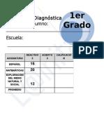 1er Grado - Diagnóstico (11-12)