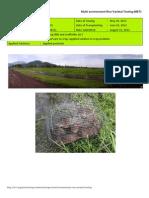 2012WS MET 1-Irrigated - Week 13 (August) IRRI