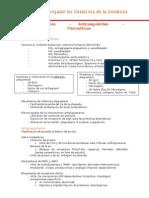 Antiplaquetarios, Anticoagulantes y Fibrinolíticos