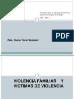 Presentación de Violencia