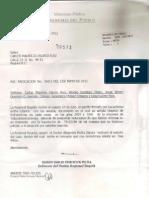 Respuesta Defensoría del Pueblo 15 de agosto