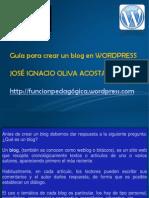 Guia Para Crear Un Blog en Wordpress