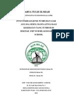 Inventarisasi Jenis Tumbuhan Liar (Gulma) Serta Manfaatnya Bagi Kesehatan Yang Tumbuh Di Sekitar Smp Nurmilad Boarding School