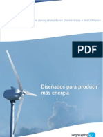 Catalogo Aerogeneradores Domesticos Industriales 2010