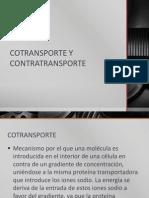 Cotransporte y Contratransporte 1
