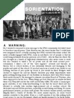 2012 SMFA Disorientation Guide - Print Version