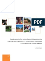 2011 01 Coordination in Corruption Control - Synexe White Paper
