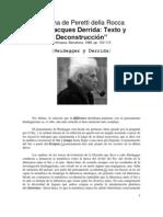 DERRIDA Cristina de Peretti Della Rocca