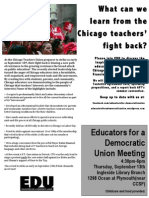 Chicago Edu Meeting