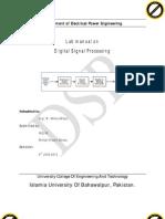 DSP Lab Manual2