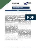 Reporte Semanal sobre Mercados y Regulación 27 al 31 Agosto
