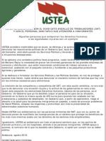 Ustea Se Solidariza Con El Sat