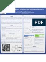 Degradation of Polystyrene Using MOFs