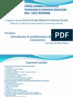 Dezvoltare Comunitara 2 Suport Curs Prof Marica