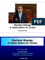 Nuclear Energy a Viable Option for Jordan NX