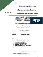 ASPECTOS ECONÓMICOS DEL PERÚ