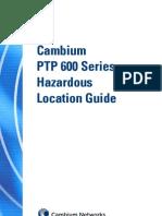 PTP600 Hazardous Location Guide