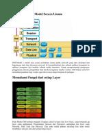 Pengenalan OSI Model Secara Umum