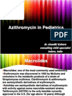 Azithromycin in Pediatrics