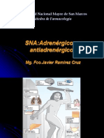 Adrenergicos y Antiadrenergicos Unmsm 2012