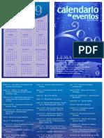 SCC Event Calendar 2009