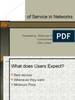 Lecture 22 - Quality of Service in Networks