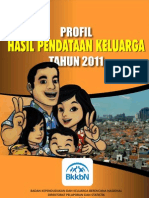 Profil Hasil Pendataan Keluarga Tahun 2011