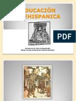 presentacion  de la educación prehispnica