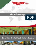 Transportnetzwerk - Niederlassungen - Nothegger Transport Logistik GmbH