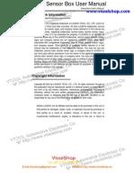 x 431 Sensorbox Users Manual