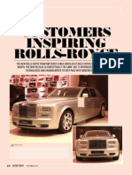 Customers inspiring Rolls-Royce