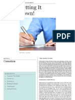 Getting It Down! - Causation