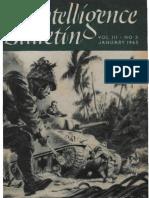 Intelligence Bulletin ~ Jan 1945