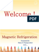 Magnetic Refrigeration Ppt