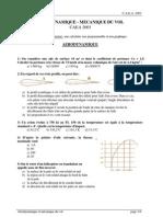 CAEA Aerodynamique Et Mecanique Du Vol 2003
