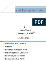 Indian National Parties